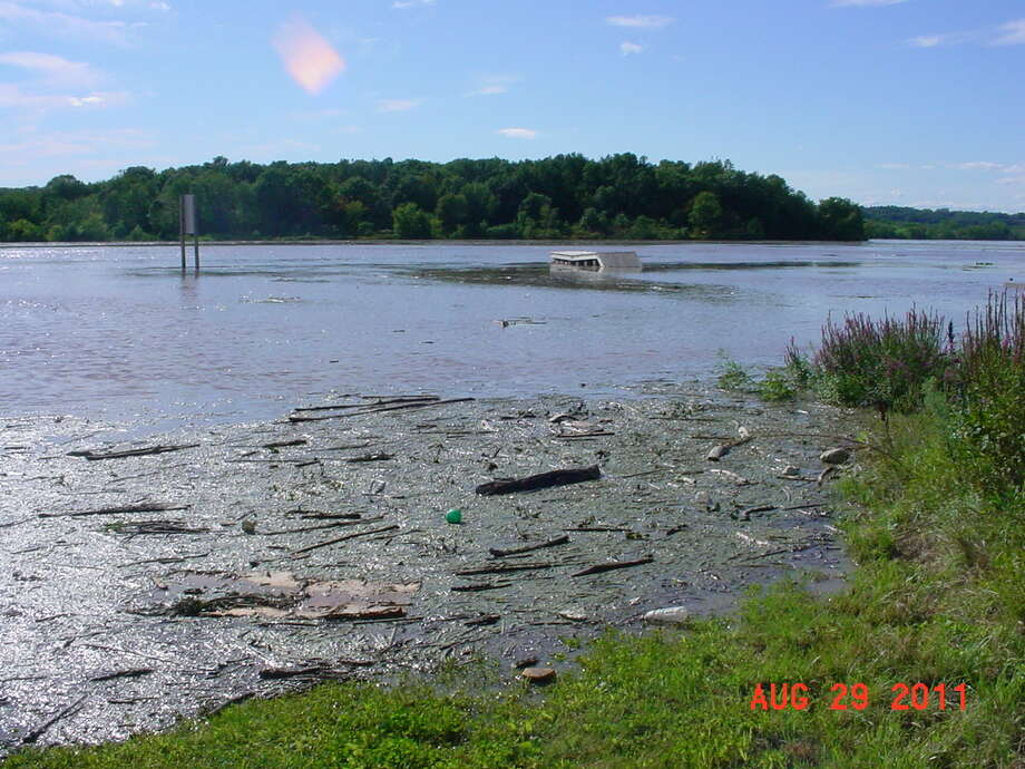 The boat launch at Lock 6 on the Mohawk River. (Teena Bell)