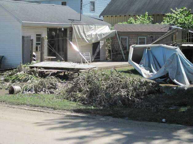 Photos: Storm damage in Schoharie County - Times Unionschoharie town
