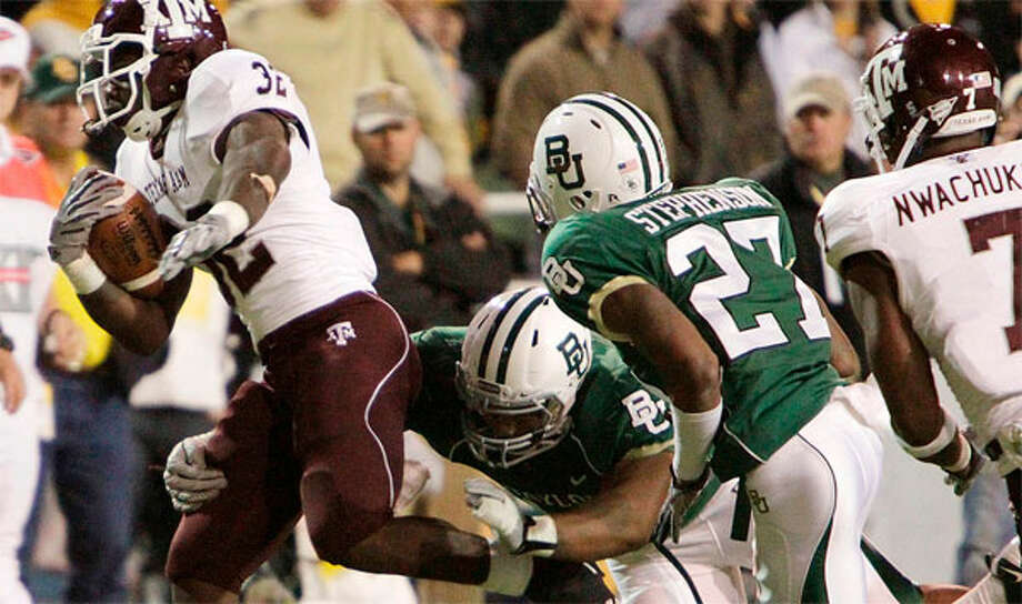 Lots of questions remain with the loss of the Aggies in the Big 12. ( Julio Cortez / Houston Chronicle)
