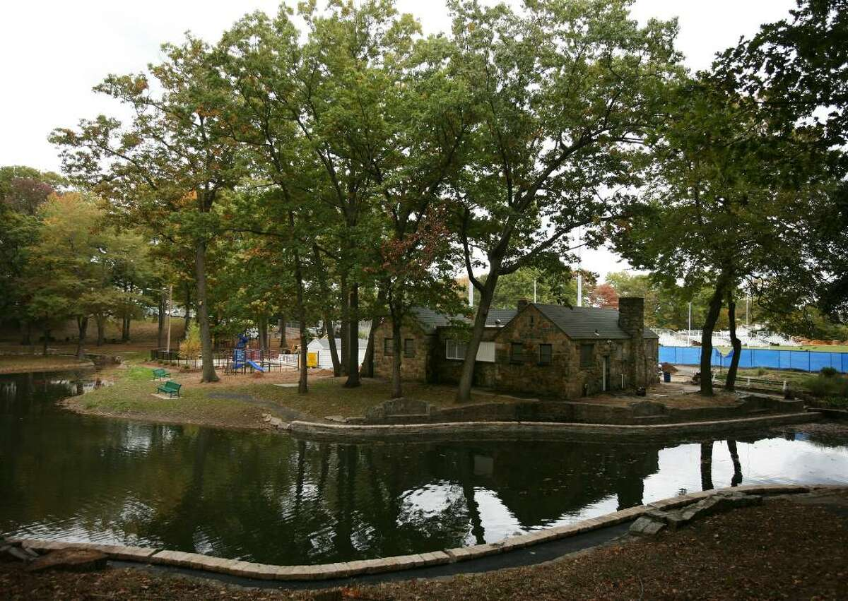 Longbrook Park in Stratford has undergone a major renovation, including new retaining walls, benches, and pond dredging.