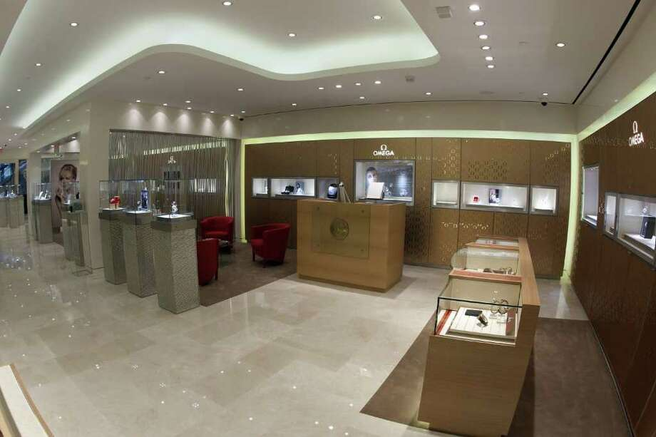 Omega's new store in the Galleria. Photo: Omega