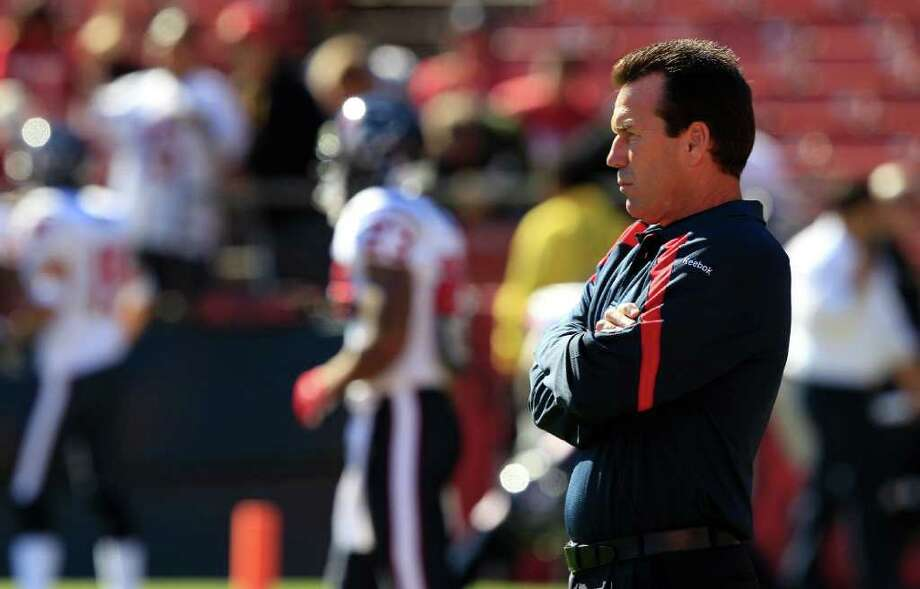 Texans coach Gary Kubiak must make several decisions about roster spots after the team's preseason final Thursday night. Photo: Marcio Jose Sanchez, Associated Press / AP