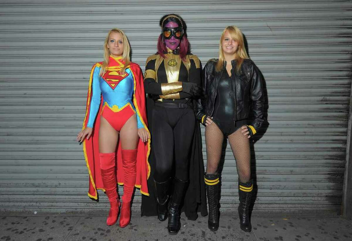 NEW YORK, NY - AUGUST 30: Excited Fans at DC Comics' Midnight Madness Event Celebrating the release of New No. 1 issue of