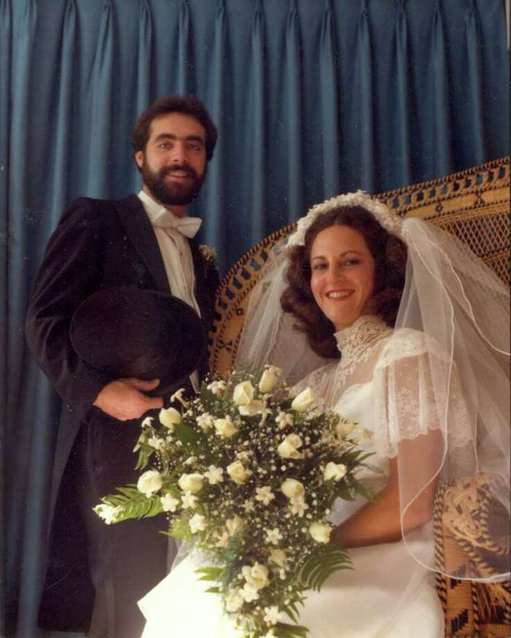 Stacy and Laurie Boxer, now of Brookfield, were married Oct. 11, 1981, in Peekskill, N.Y. Photo: Contributed Photo