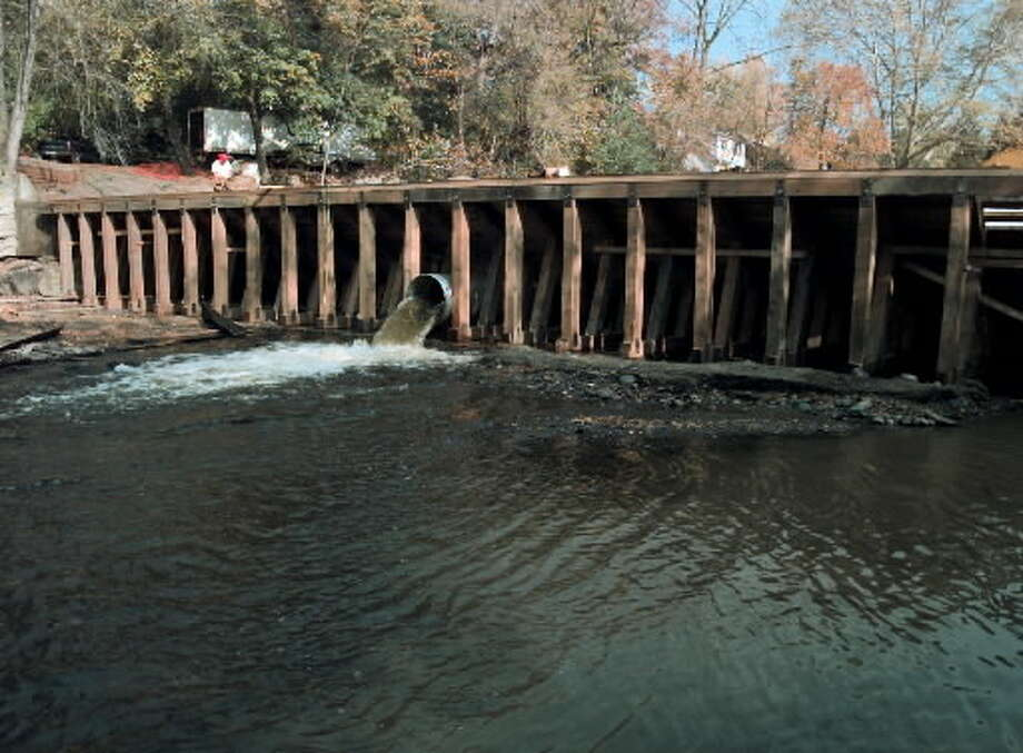The Poesten Kill Dam. (File photo)