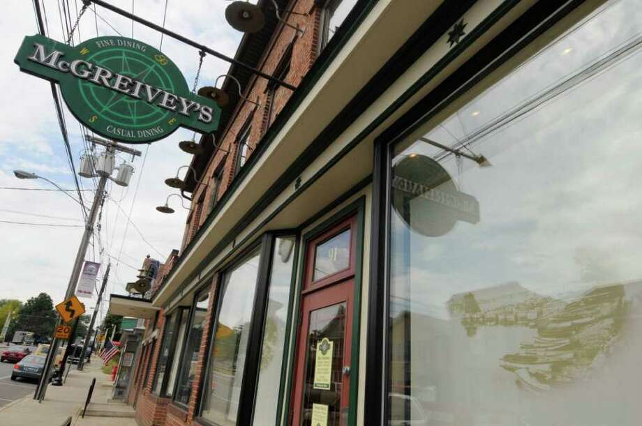 McGreivey's Restaurant, 91 Broad St., Waterford. 238-2020. Closed for regular business for annual employee-appreciation party, but the public is invited to join the staff starting at 4 p.m. Food and drink through halftime of the Super Bowl is $40 per person; buffet alone, $10.Find more details on Table Hopping. Photo: Michael P. Farrell