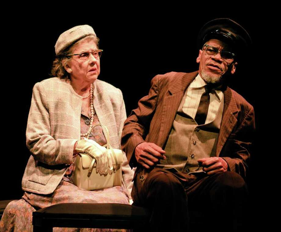 Driving Miss Daisy. starring Jeannette A.D. Players production of DRIVING MISS DAISY starring Jeannette Clift George andWayne DeHart. Photo: Orlando Arriaga