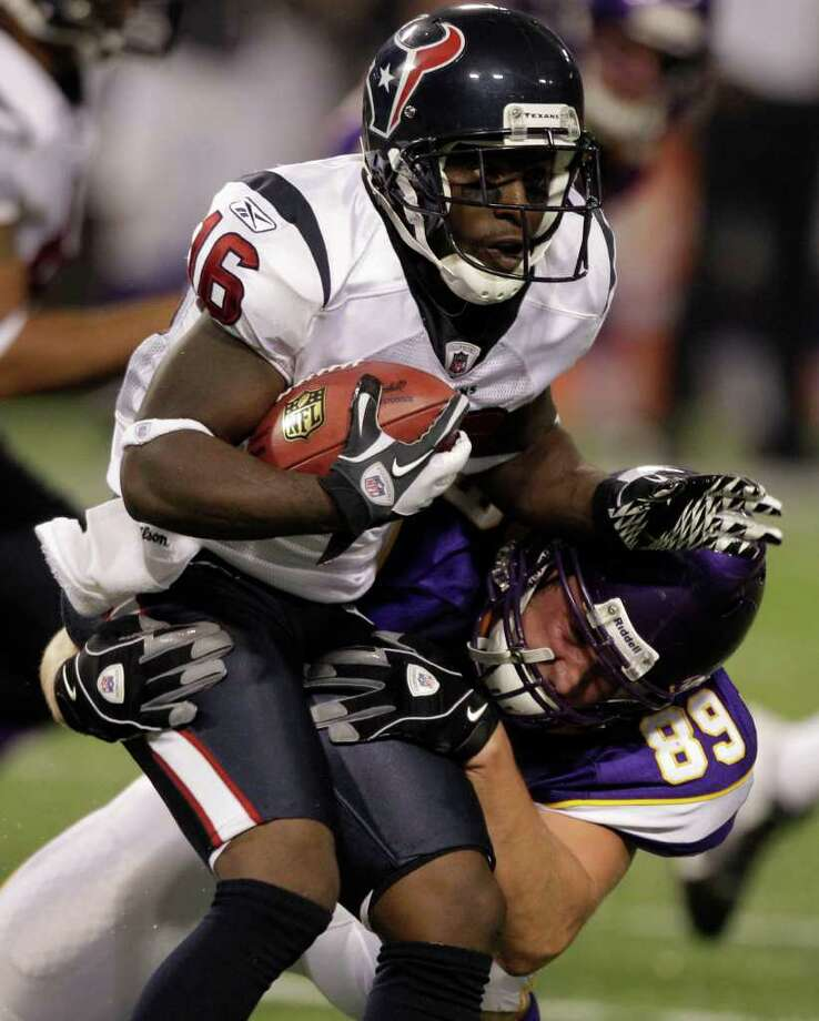 Speedy Trindon Holliday will get another shot with the Texans.