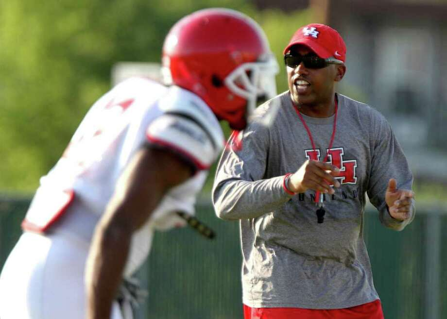 Defensive coordinator Brian Stewart has brought passion and attitude to the UH defense. Photo: For The Chronicle:  Thomas B. Sh, For The Chron: Thomas B. Shea