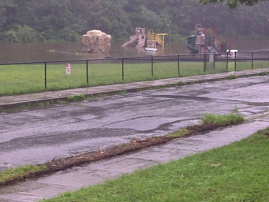 "User-submitted photo of damage from Hurricane Irene.  Submitted by Dallas. ""Rowan Street on 8/28/2010 "" Photo: Contributed"