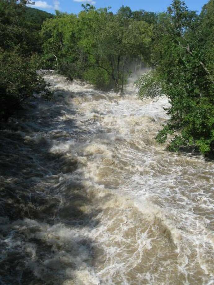 "User-submitted photo of damage from Hurricane Irene.  Submitted by Lisa ""Bull's Bridge"" Photo: Contributed"