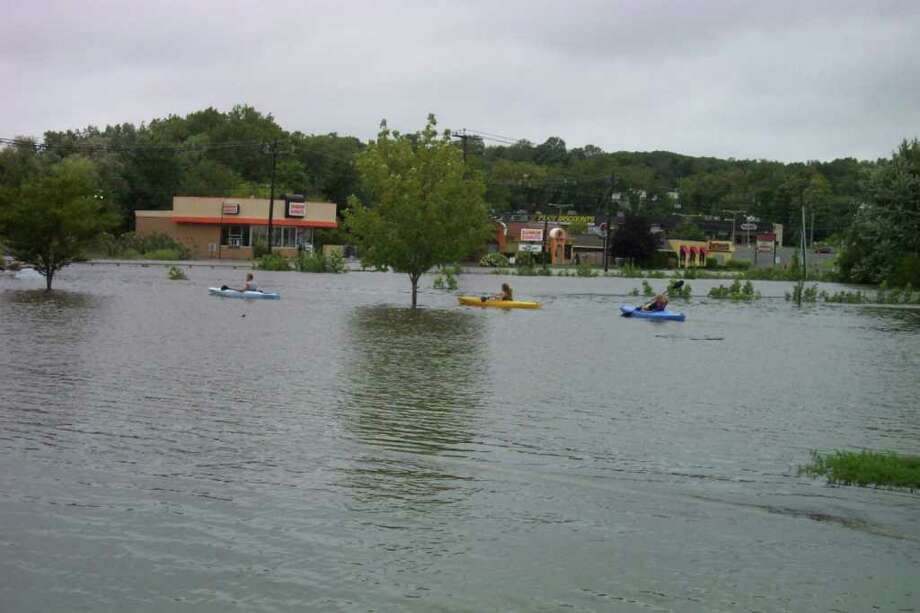 "User-submitted photo of damage from Hurricane Irene.  Submitted by DanburyKen ""New Boat Launch. Last one to Dunkin' Donuts buys the coffee."" Photo: Contributed"