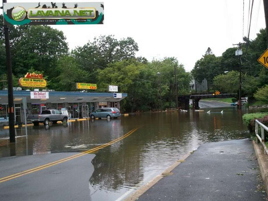 "User-submitted photo of damage from Hurricane Irene.  Submitted by lavainanet ""amigo deli"" Photo: Contributed"