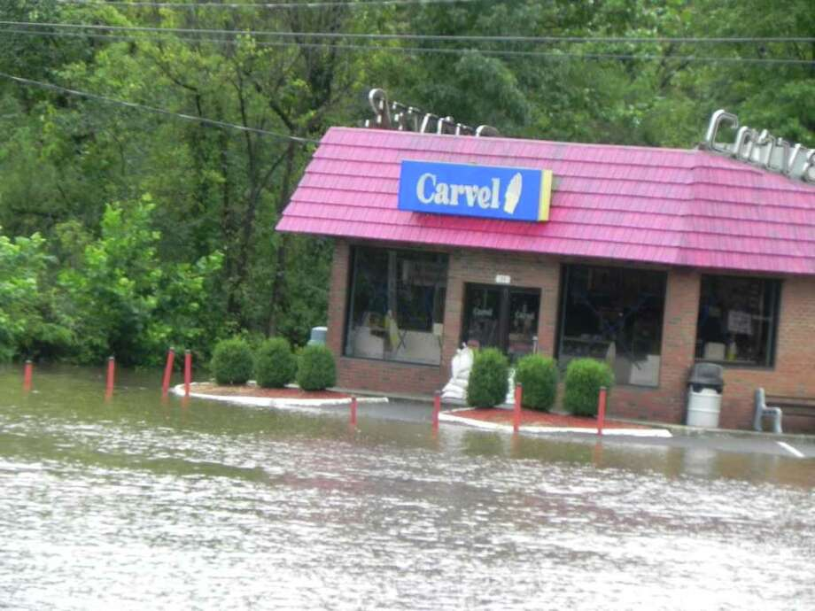 "User-submitted photo of damage from Hurricane Irene.  Submitted by mr sashko ""Federal Road, Danbury"" Photo: Contributed"