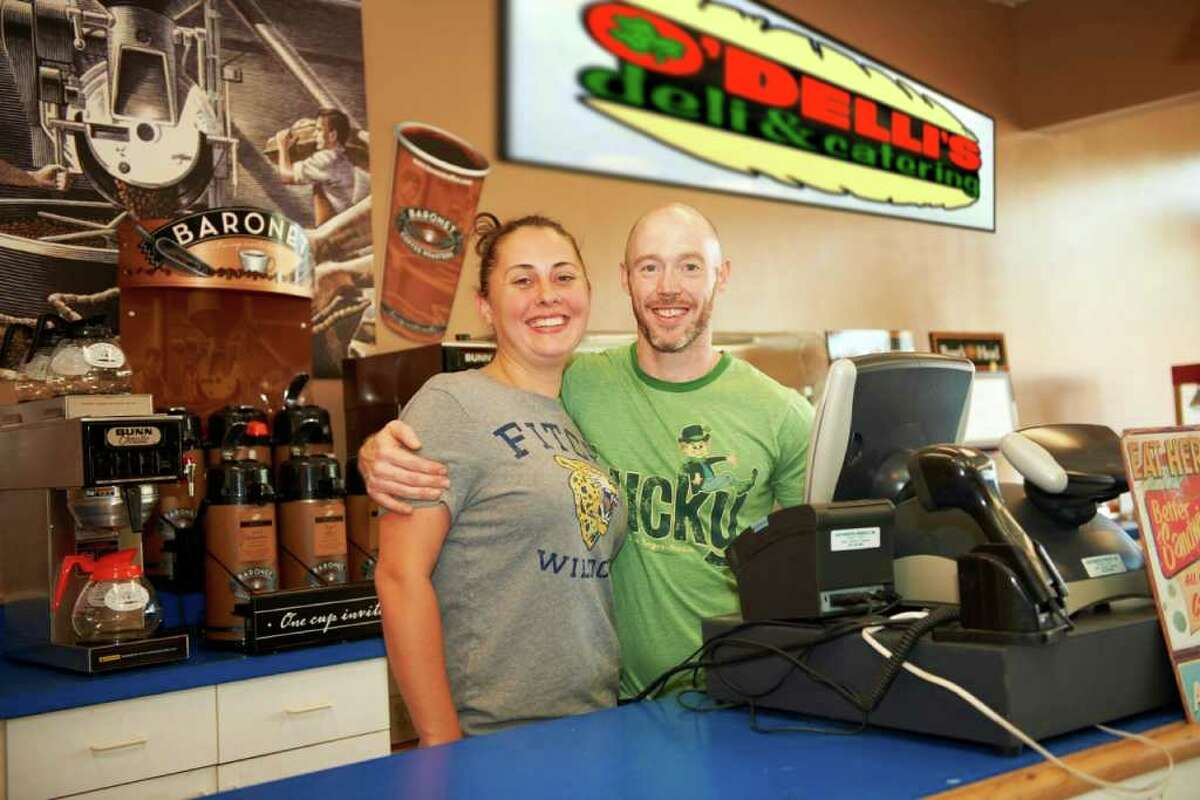 Casey and Vanessa O'Dell are featuring healthy fare, deliveries and meals to go at their new business in Danbury. O'Delli's Deli, which also does catering, opened Labor Day weekend at 10 Hayestown Avenue.