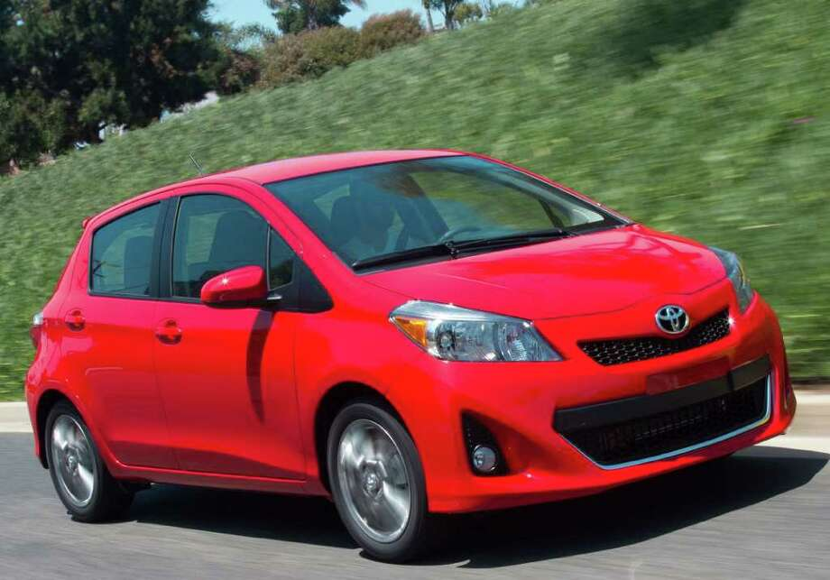 The Toyota Yaris Liftback subcompact has been redesigned for 2012. It comes in three- and five-door versions. Prices begin at $14,115 (plus freight). COURTESY OF TOYOTA MOTOR SALES U.S.A. Photo: Toyota Motor Sales U.S.A., COURTESY OF TOYOTA MOTOR SALES U.S.A.