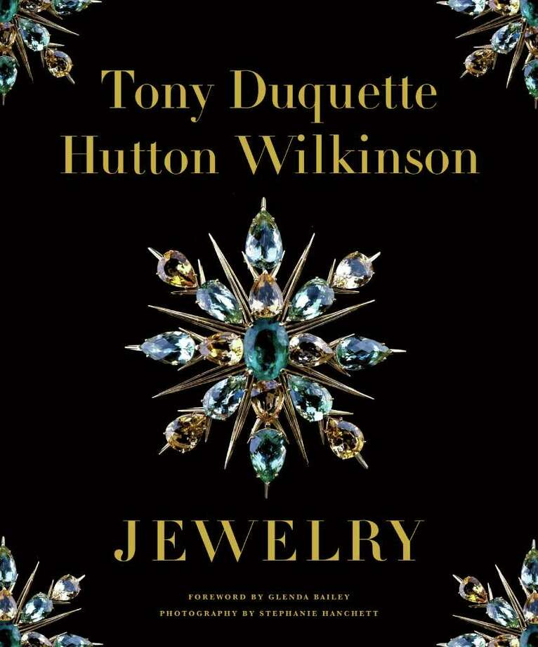 The cover jacket for Tony Duquette: Hutton Wilkinson Jewelry ($50, Abrams, 144 pages). Photo: Tony Duquette
