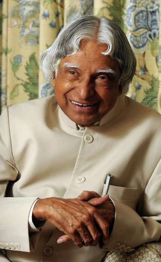 Abdul Kalam  says education is the key to the future of India. Photo: Dave Rossman, Freelance / © 2011 Dave Rossman