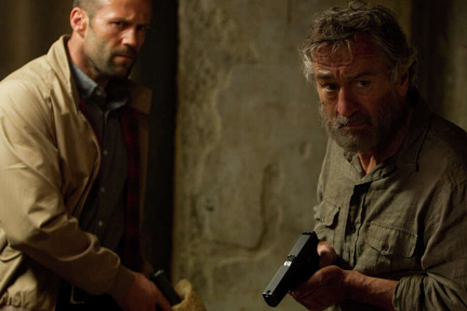 "(L-R) Jason Statham as Danny Bryce and Robert De Niro as Hunter in ""Killer Elite."" Photo: Brook Rushton"