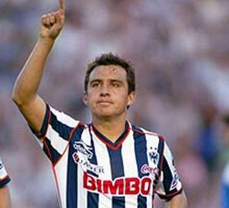 Luis Ernesto Perez Monterrey of Mexican League soccer  Courtesy photo