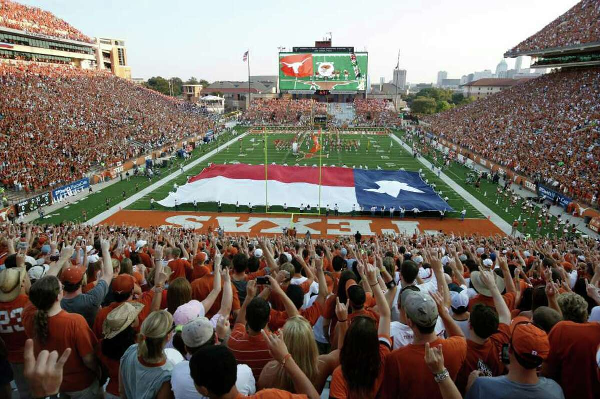 School:  University of Texas Capacity: 100,000 Name: Darrell K. Royal Stadium Built: 1924