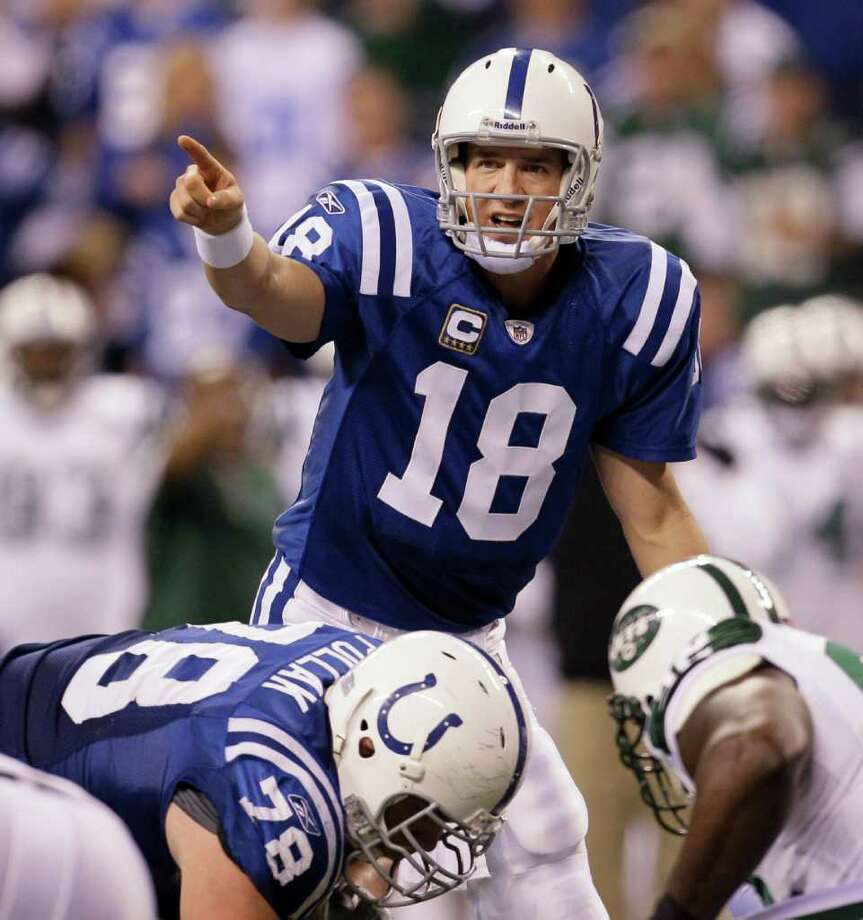 The Colts' fortunes rely on the recovery of QB Peyton Manning, a fantasy stud for several seasons. Photo: Nam Y. Huh/Associated Press / AP2011