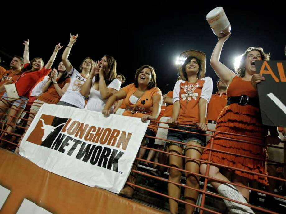 The Longhorn Network, a partnership between the University of Texas at Austin and ESPN. Photo: Erich Schlegel, Getty / 2011 Getty Images