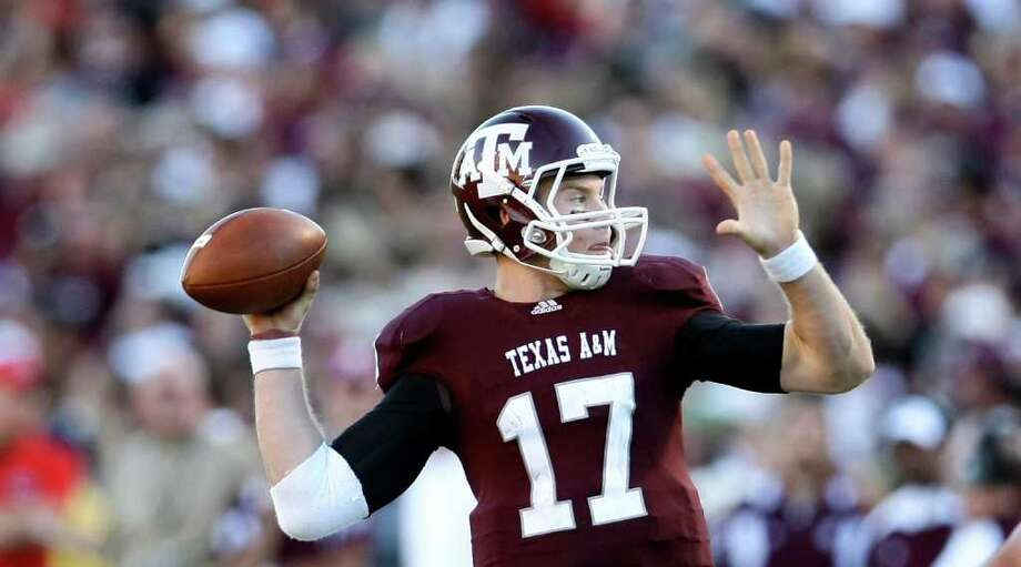 Quarterback Ryan Tannehill is one of the Aggies' 18 returning starters.  Photo: Nick De La Torre, Chronicle / Houston Chronicle
