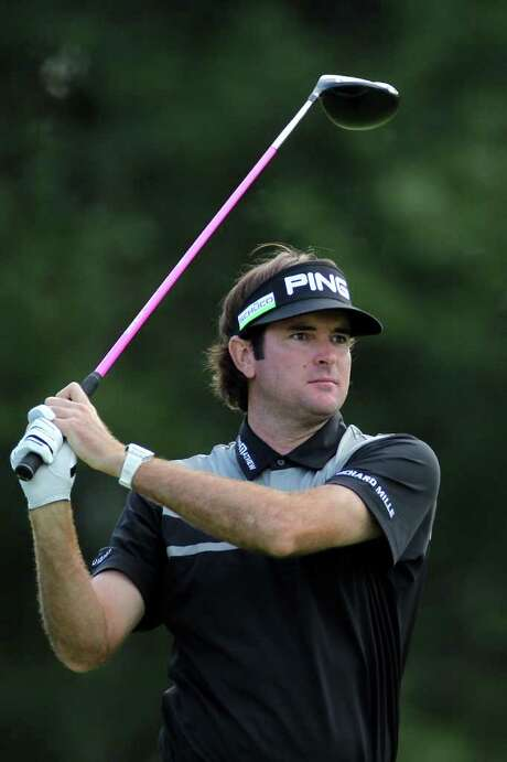 NORTON, MA - SEPTEMBER 03:  Bubba Watson watches his tee shot on the 14th hole during the second round of the Deutsche Bank Championship at TPC Boston on September 3, 2011 in Norton, Massachusetts.  (Photo by Jim Rogash/Getty Images) Photo: Jim Rogash, Stringer / 2011 Getty Images