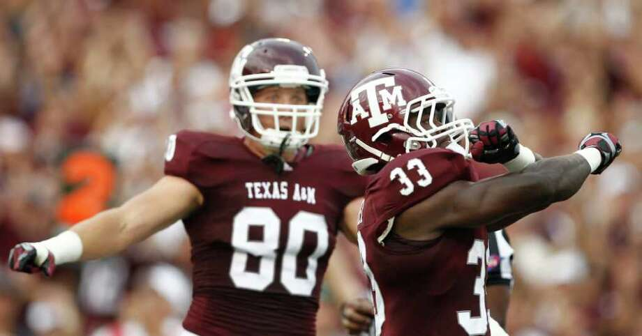 Texas A&M intends to begin play in the SEC in 2012. Photo: Nick De La Torre, Houston Chronicle / © 2011 Houston Chronicle