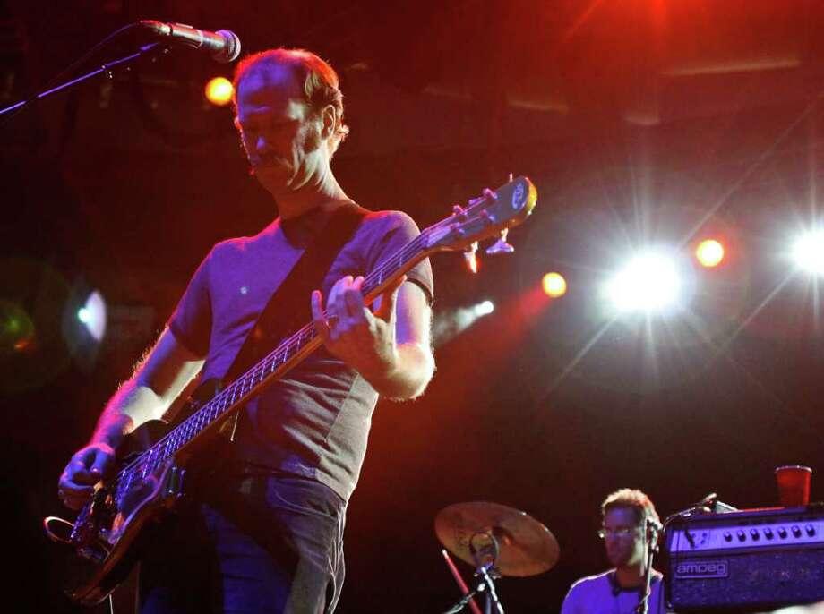 Charles Spearin of Broken Social Scene performs. Photo: JOE DYER / SEATTLEPI.COM