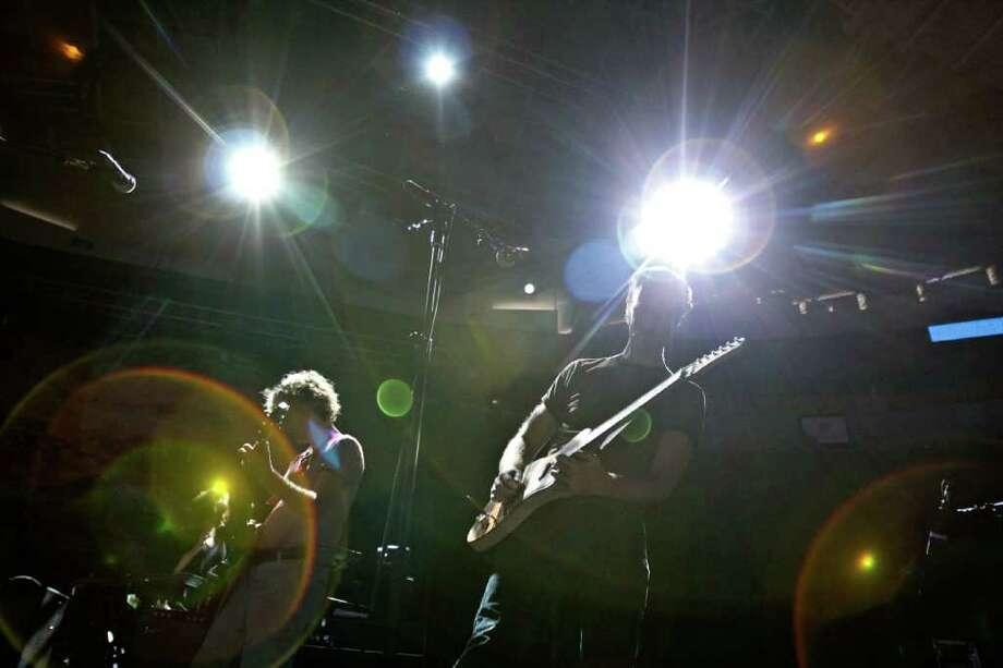 The Band Broken Social Scene performs. Photo: JOE DYER / SEATTLEPI.COM