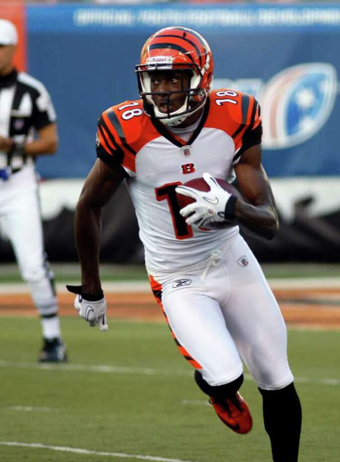 A.J. Green, Cincinnati. The organization might be a mess, but the wide receiver  from Georgia is as natural a pass-catcher to enter the league in recent  memory. Photo: David Kohl, Associated Press / FR51830 AP