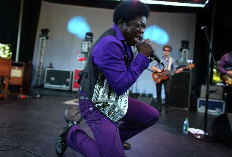 Charles Bradley brings his soul sound to the Fischer Green Stage. Photo: JOSHUA TRUJILLO / SEATTLEPI.COM