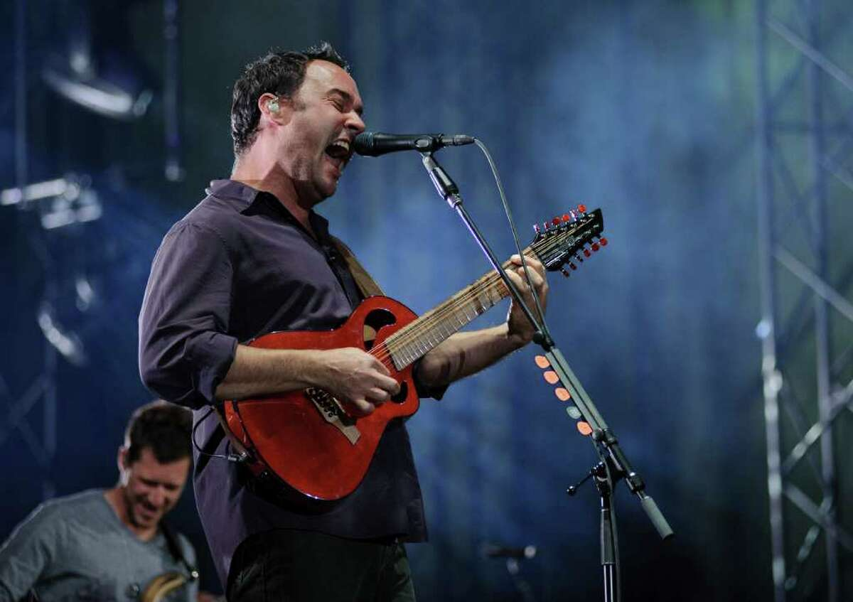 The Dave Matthews Band performs at the Gorge Amphitheatre on Friday, September 2, 2011.