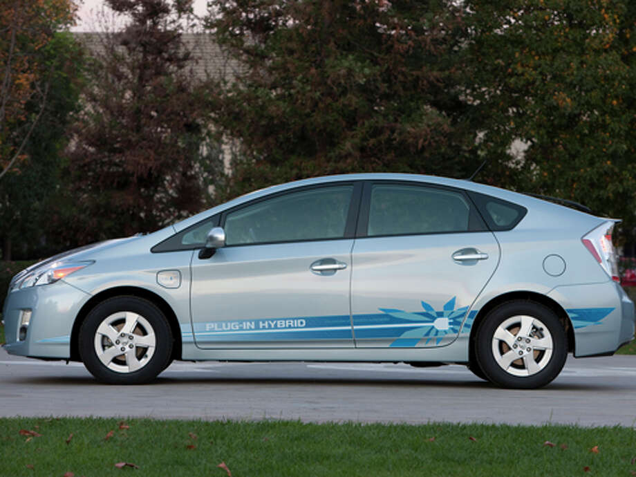 2012 Toyota Prius PHV (photo courtesy Toyota) / 2010 Dewhurst Photography
