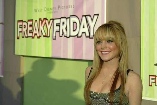 Lindsay Lohan (cast) at the premiere of Walt Disney Pictures' FREAKY FRIDAY held at the El Capitan Theatre on Hollywood Blvd. (PRNewsFoto/Walt Disney Pictures) Photo: ERIC CHARBONNEAU/BEIMAGES, HO / AP2003