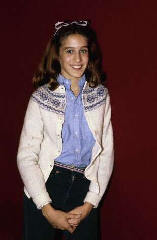 "Sarah Jessica Parker, 15 in this photo, was starring on the TV show ""Square Pegs"" at the age of 17. Before that, she was on the 1980 TV show ""3-2-1 Contact.""  Photo: David Handschuh, STR / 1980 AP"