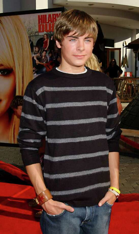 "One could argue that because Zac Efron is still practically a child, he has yet to outgrow the ""child star"" label. However, Efron, shown here at the age of 17 in 2004, began acting at the age of 15 in an episode of Joss Whedon's ""Firefly.""  Photo: LUIS MARTINEZ, STR / AP2004"