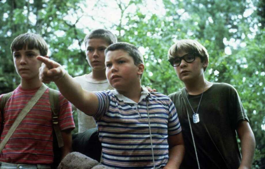 """Jerry O'Connell (front, center) already turned 40 this year (Feb. 17). He's pictured in the 1986 movie, """"Stand By Me."""" From left: Wil Wheaton, River Phoenix, O'Connell and Corey Feldman. Photo: Anonymous, HO / AP1985"""