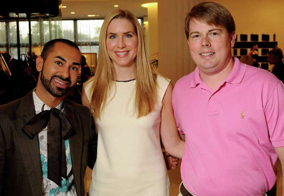 From left: Fady Armanious with Audrey and Brandon Cochran Photo: Dave Rossman, Freelance / © 2011 Dave Rossman