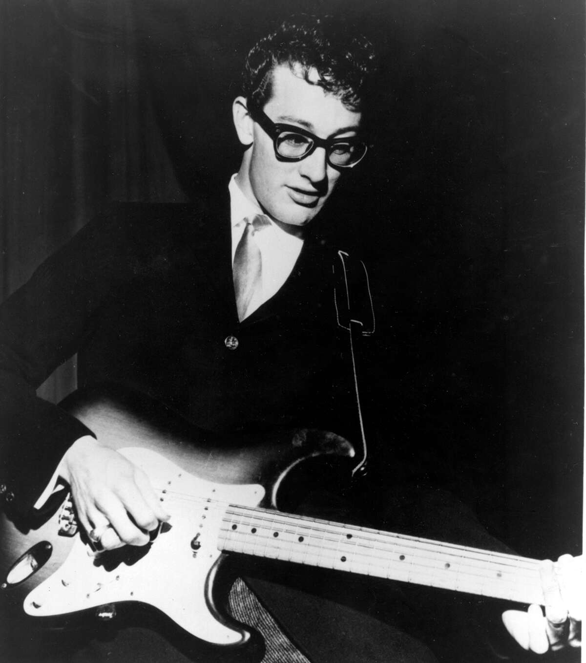 Buddy Holly recorded and toured with the Cricketts in the mid- to late 1950s. His two-guitar, bass and drums version of a rock band continues to be the standard. COURTESY PHOTO