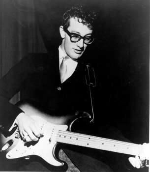 1950s rocker Buddy Holly was born in Lubbock, Texas in 1936. He rose quickly to fame before his life was cut short at just 22 years old in a plane crash. He died alongside the pilot and other famous musicians Ritchie Valens and the Big Bopper (who was born in Sabine Pass, Texas.)  / AP