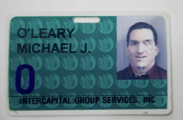 Michael O'Leary's key card granting access to the World Trade Center. On the morning of Sept. 11, 2001, longtime friends O'Leary and Dan McMorrow were working across the trading desk from each other at their office on the 25th floor of the World Trade Center.  The two men, who met at an eighth grade basketball tournament, attended high school together and eventually worked together at the brokerage firm ICAP which, in 2001, was located in the World Trade Center. Each was intent on finding the other before they made their way out of the building. Photo: Keelin Daly / Stamford Advocate