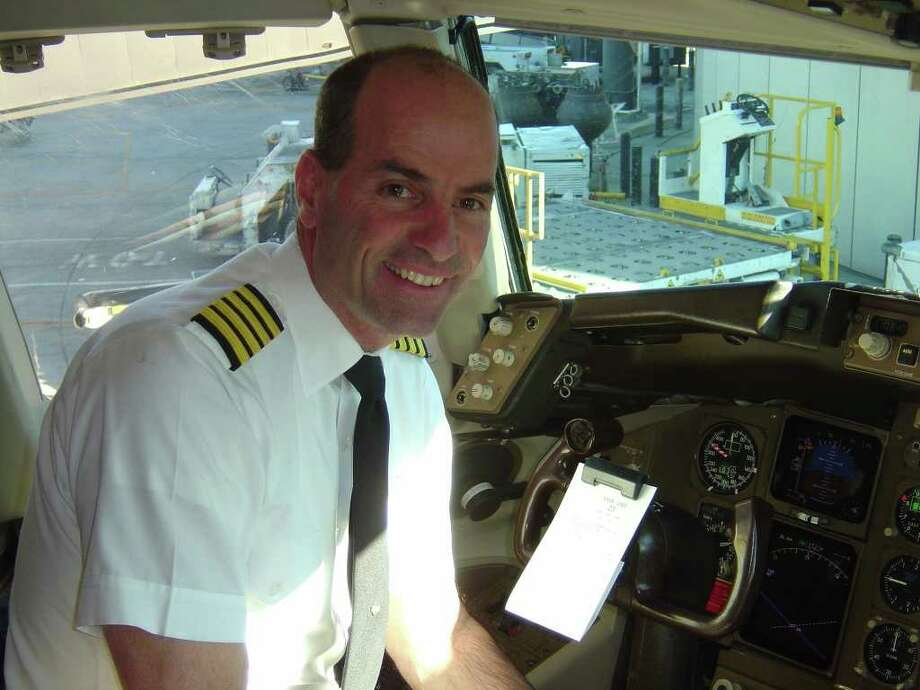 """United Continental Holdings CLEAR TALK: Capt. Mike Bowers says, """"I thought it would be nice if passengers could communicate with pilots."""" Photo: United Continental Holdings"""