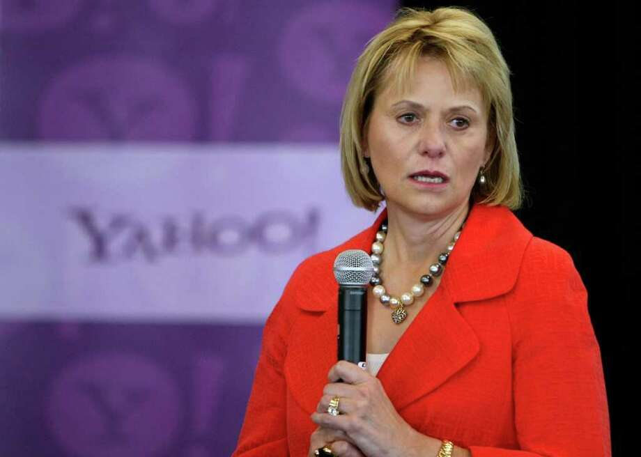 GETTY IMAGES FILE NO EXCLAMATION POINT:  Yahoo CEO Carol Bartz's three-year tenure saw the company lose ground to Google, while much of its advertising went to Facebook. Photo: Justin Sullivan, Staff / Getty Images North America