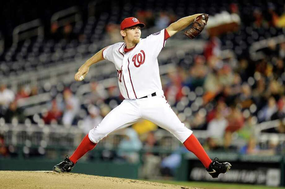 GREG FIUME: GETTY IMAGES COMEBACK KID: Washington's Stephen Strasburg made a long-anticipated return to the mound with five shutout innings on Tuesday. Photo: Greg Fiume, Stringer / 2011 Getty Images
