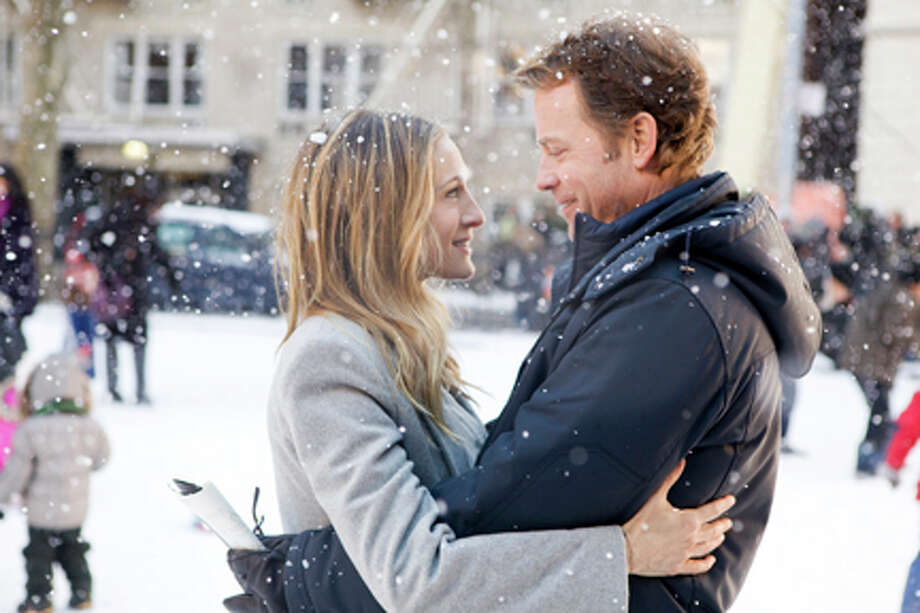 """Sarah Jessica Parker as Kate Reddy and Greg Kinnear as Richard Reddy in """"I Don't Know How She Does It."""" Photo: Craig Blankenhorn, ©2011 The Weinstein Company, All Rights Reserved / ©2011 The Weinstein Company, All Rights Reserved"""