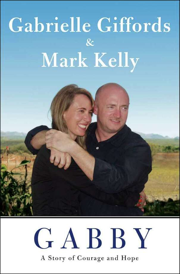 "This image provided by Scibner shows the cover of the joint memoir of Rep. Gabrielle Giffords and her husband, retired astronaut Mark Kelly, titled ""Gabby: A Story of Courage and Hope."" The book, written with ""The Last Lecture"" co-author Jeffrey Zaslow, is coming on Nov. 15. (AP Photo/Scribner) Photo: HOEP / Scribner"