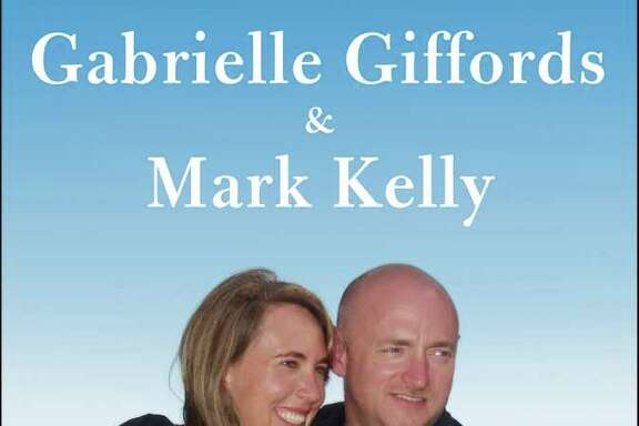 "This image provided by Scibner shows the cover of the joint memoir of Rep. Gabrielle Giffords and her husband, retired astronaut Mark Kelly, titled ""Gabby: A Story of Courage and Hope."" The book, written with ""The Last Lecture"" co-author Jeffrey Zaslow, is coming on Nov. 15. (AP Photo/Scribner)"